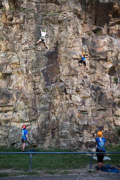 rock climbing in Brisvegas
