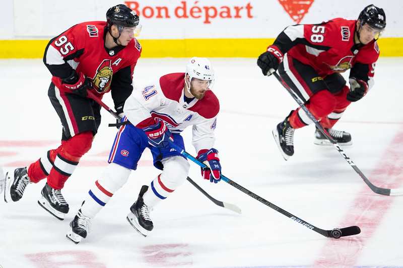 NHL 2018: Canadiens vs Senators  OCT 20