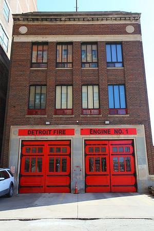 Detroit Fire Houses