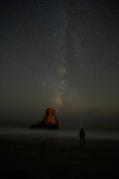 Milky way at Davenport