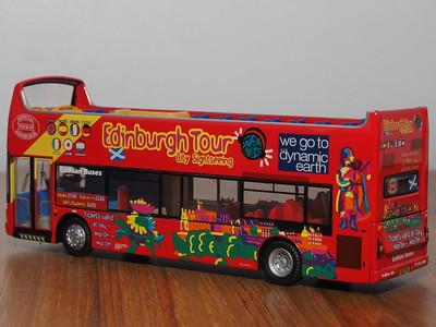 CMNL UKBUS2001 Lothian Buses Dennis Trident Plaxton President open top 32 Edinburgh Tour