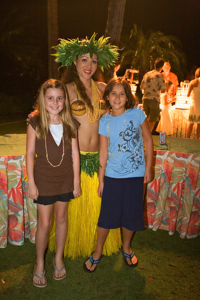 The Kids at the Luau