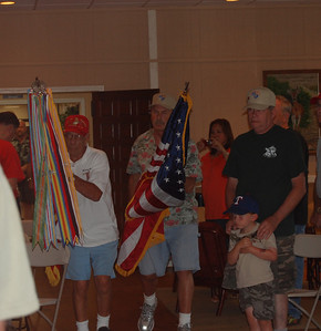 Carrying the Flags