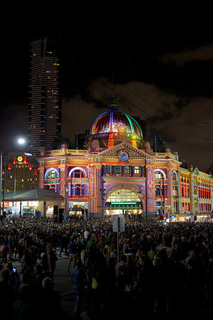 White Night in Melbourne with a 40mm Pancake
