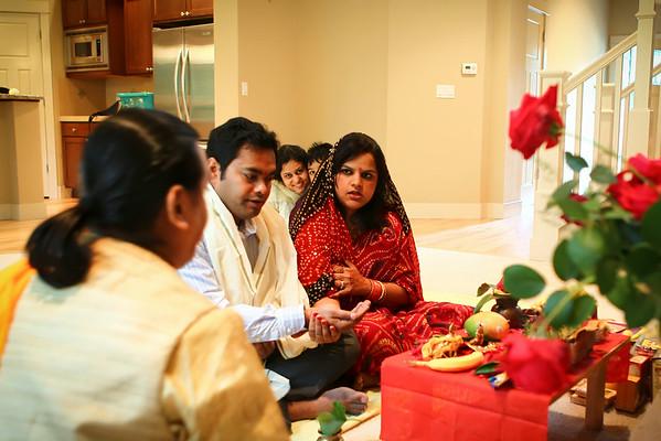 Sanjiv House warming ceremony