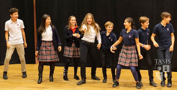 TASIS Middle School Theater Club Workshop