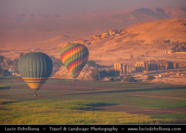 Egypt - Luxor - Balloon flight