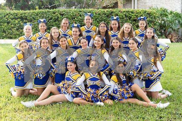 Nativity Knights Cheerleaders 2019-2020