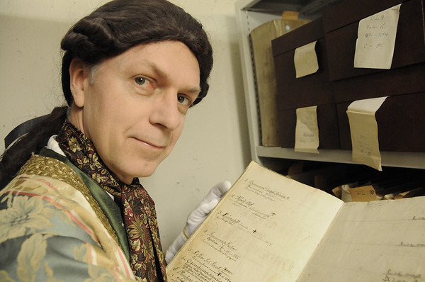 Olof Kexél i Par Bricoles arkiv
