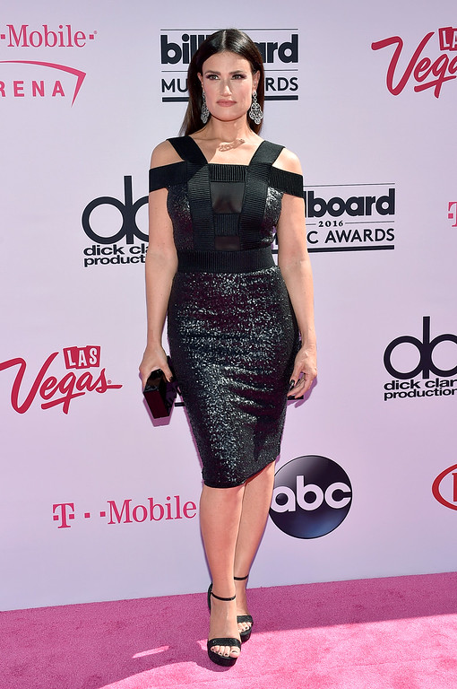 . LAS VEGAS, NV - MAY 22:  Actress/recording artist Idina Menzel attends the 2016 Billboard Music Awards at T-Mobile Arena on May 22, 2016 in Las Vegas, Nevada.  (Photo by David Becker/Getty Images)