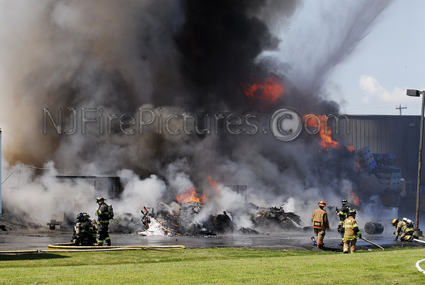PALMER TWP., PA 4TH ALARM 11 MC FADDEN RD JULY 15, 2011