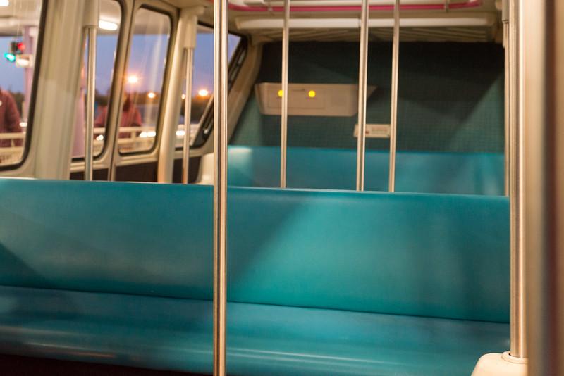 Empty Monorail - Magic Kingdom Walt Disney World
