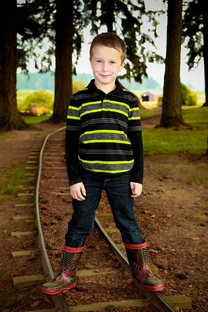 Dougy 8 year at the Pumpkin Patch