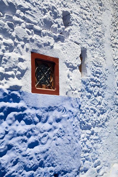 Blue walls, Chefchaouen, Morocco
