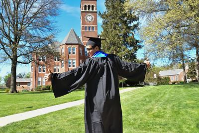 Gabe Schreiner SRU Graduation 2021