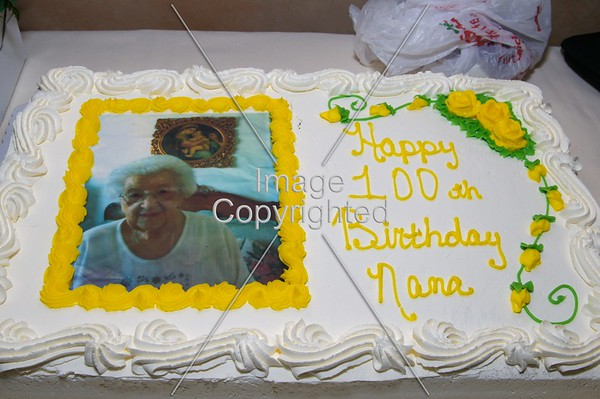 Nana's 100th Birthday Party
