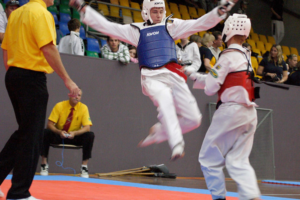 Tae Kwon Do: Sparring