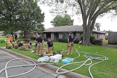 Allen TX. Cypress Dr. residential structure fire  10/7/18