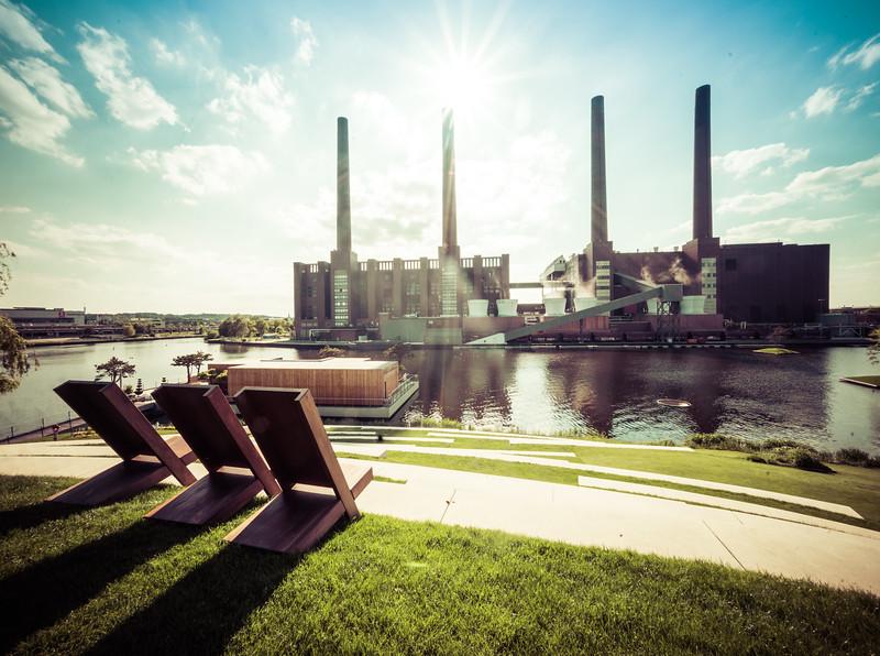 Relaxing in Wolfsburg