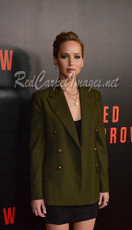 Red Sparrow Washington DC Movie Premiere - Arrivals