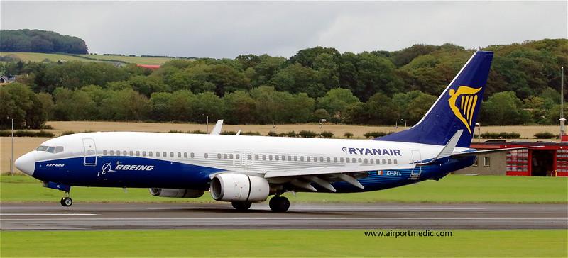 EI-DCL B737-8 Ryanair @ Prestwick (EGPK)