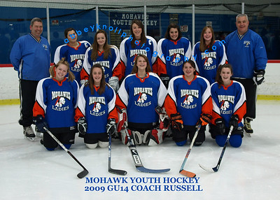09-10 Mohawk Hockey Team Photos