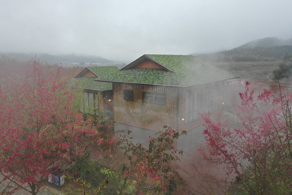 Fujian Dazhu Sakura Rainbow Ecological wooden house and tourist Service Center福建大竹樱花虹生态木屋及游客服务中心