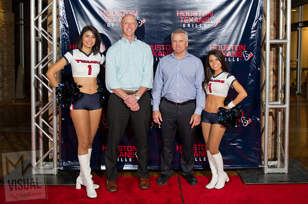 Houston Texans Grill VIP Opening