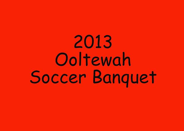 2013 Ooltewah Soccer BAnquet DVD