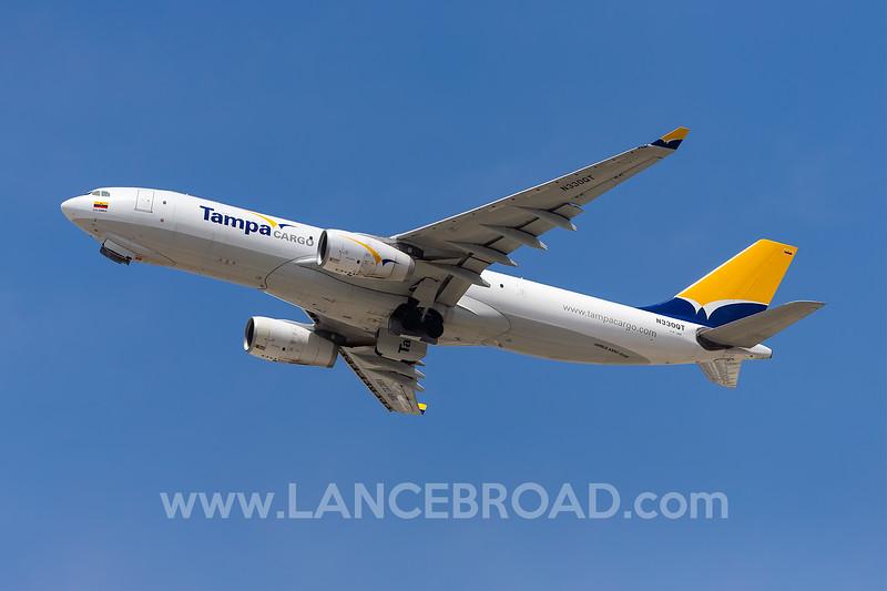 Tampa Cargo A330-200F  - N330QT - LAX