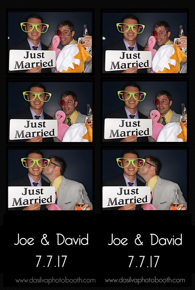Joe and David's Wedding