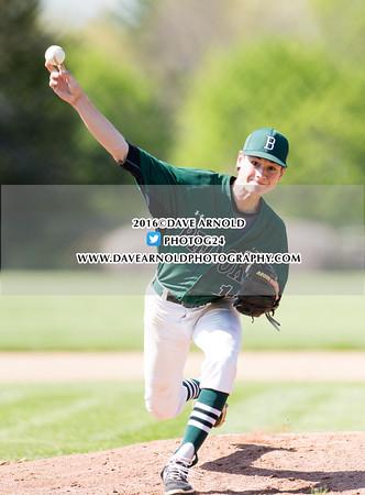 5/11/2016 - Varsity Baseball - Brooks vs Lawrence Academy