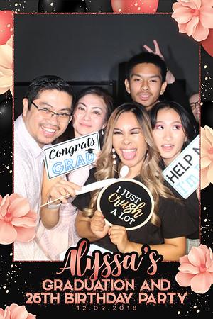 12.09.2018 Alyssa's Grad and Birthday Party