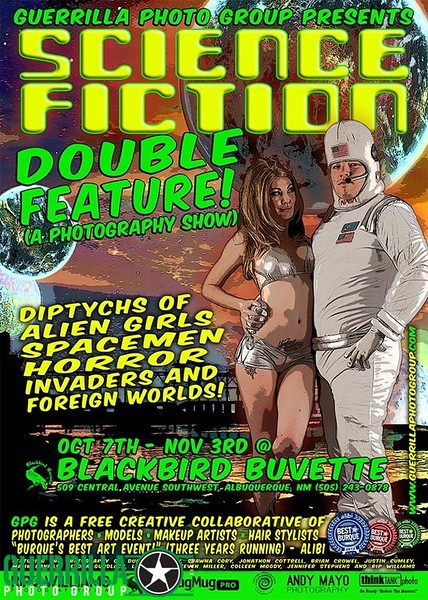 SCIENCE FICTION: DOUBLE FEATURE (October, 2012)