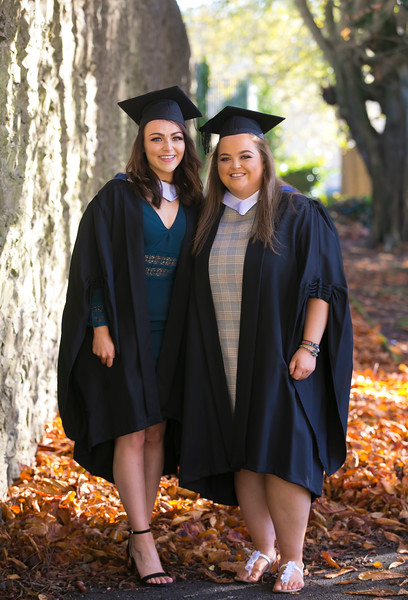 01/11/2018. Waterford Institute of Technology (WIT) Conferring Ceremonies 2018. Pictured is Pictured are Shannon Burke Clonmel and Eimear Kelly Kildare. Picture: Patrick Browne