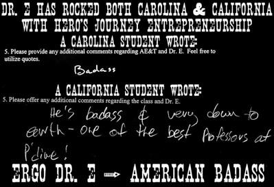 Dr. E American Badass