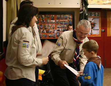 Bronze Chief Scout Award Badge Ceremony