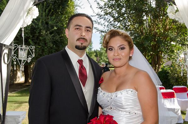 Olivia and Jesus wedding