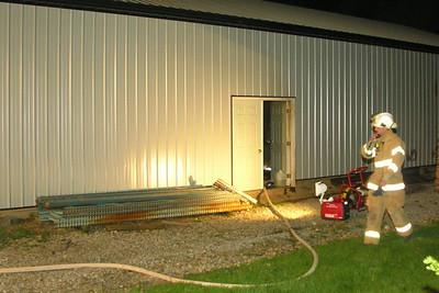 4-15-10 Conesville FD Pole Barn Fire