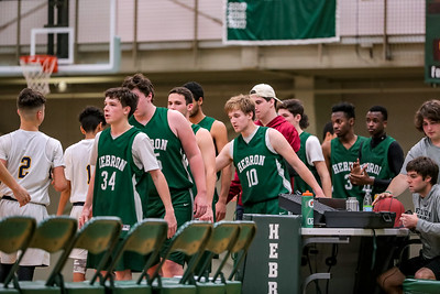 2018-01-12 Hebron Academy Boys' Basketball