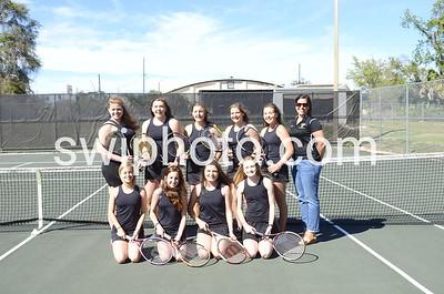 18-03-07 Girls Tennis Group