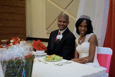 Ashla & Ernest Wedding - Reception