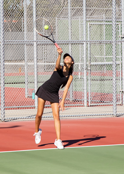 JV Tennis vs Mater Dei