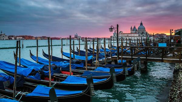 Venice, Italy - Jan 2017