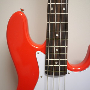Squier Affinity Jazz Bass Red