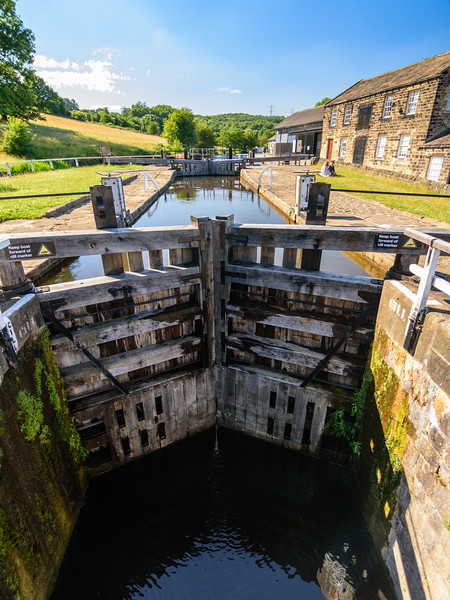 Dobson Locks on the Leeds and Liverpool Canal