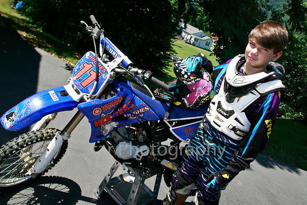 Bailey Hughes - Motocross Racer 07-27-11