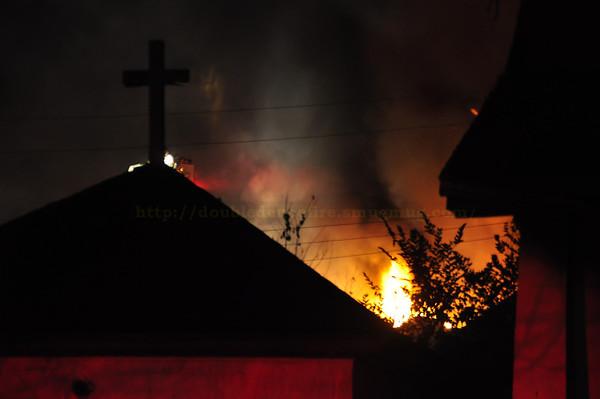 Detroit /Highland Park fires 10-29-13
