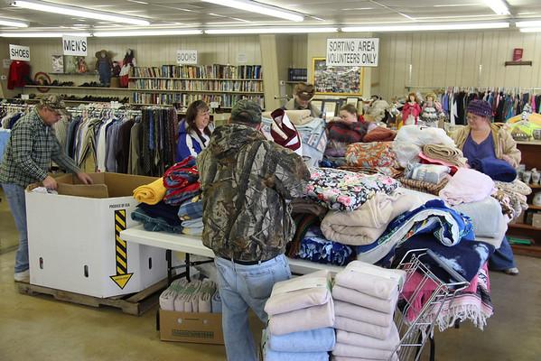 2013,  Blanket Distribution