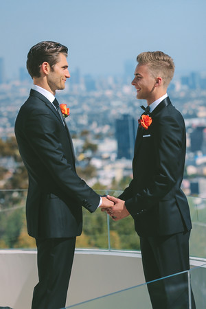 Jerreth + Felix | Hollywood Hills Wedding